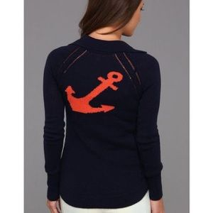 Anchors Away Shelly Sweater Navy
